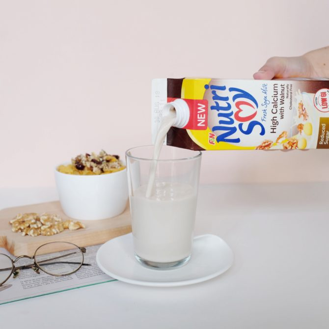 Nutrisoy High Calcium Reduced Sugar with Walnut