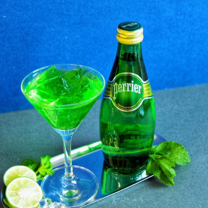 Perrier Chill Green