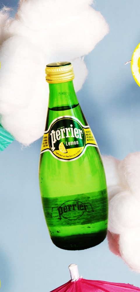 On Cloud Nine with Perrier