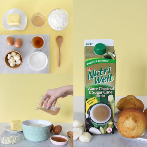 Sugarcane Muffin Recipe with Nutriwell